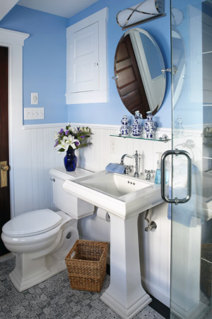 Elegant bathroom cabinets