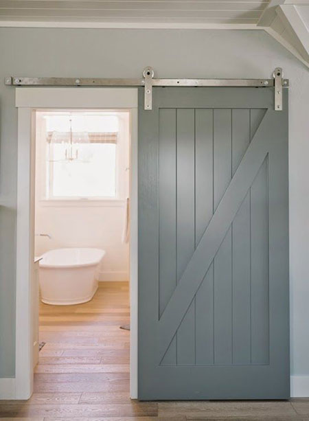 Is A Sliding Barn Door Right For Your Bathroom