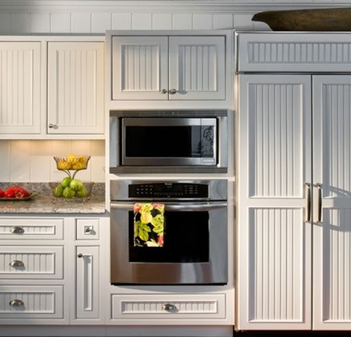 Custom Made Beadboard Poplar Cabinet Doors Estate Millwork