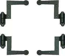 Heavy Cast Iron Shutter Hinge and Pintles