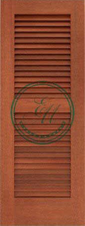 Louvered Door Picture