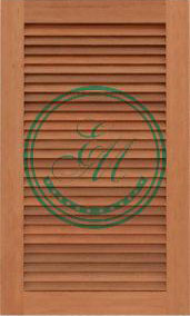 Loading Louvered Cabinet Door Picture